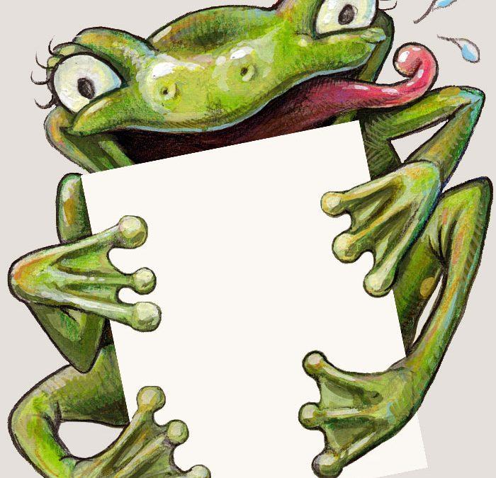 Froggy Invitation